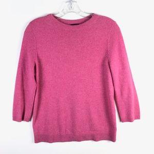 Talbots Cashmere 3/4 Sleeve Sweater PM #1662